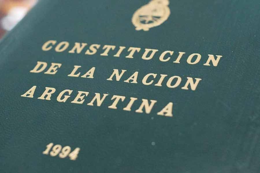 de nuestra Constitución Nacional