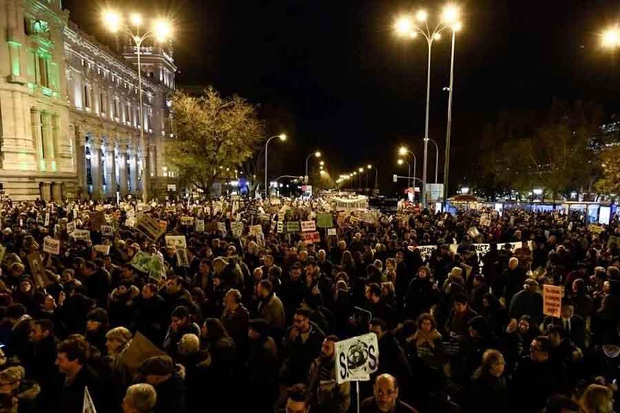 Manifestaciones en Madrid
