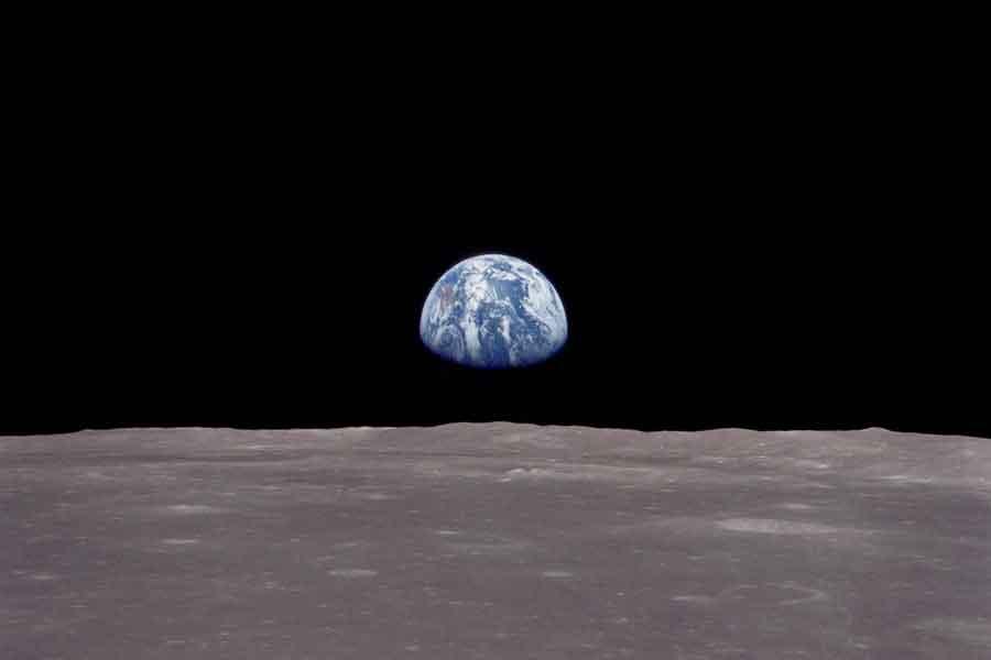 La Tierra desde la Apolo 8