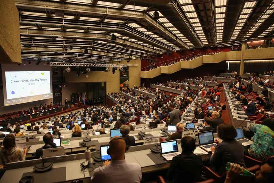 Conferencia de las partes - COP - UN