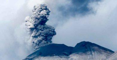 ¿Qué son los aerosoles volcánicos?