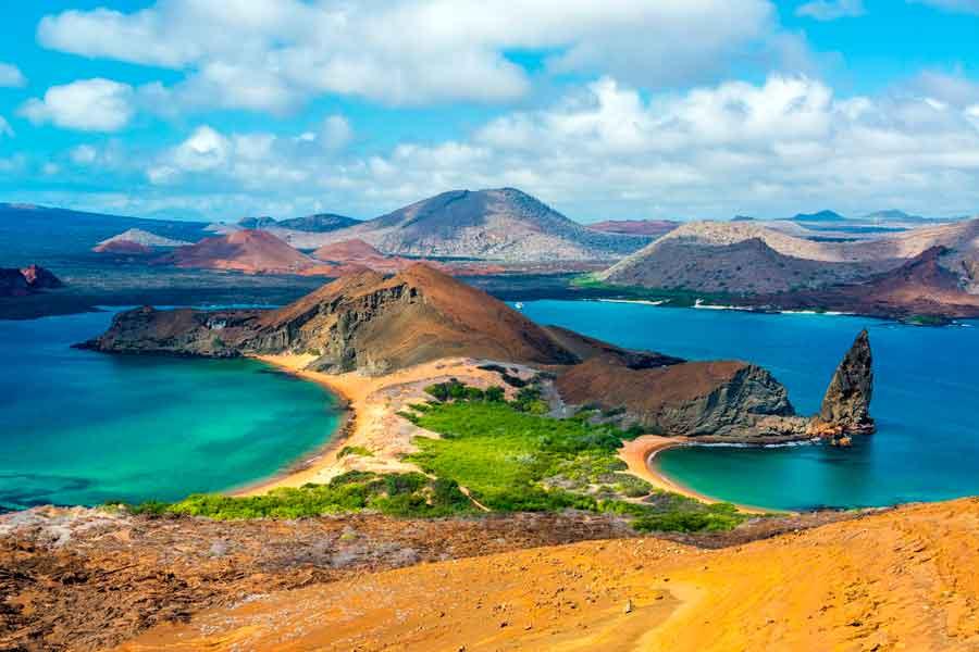 Paisaje de las islas Galápagos