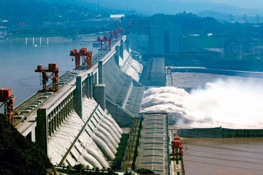 Represa Tres Gargantas - China