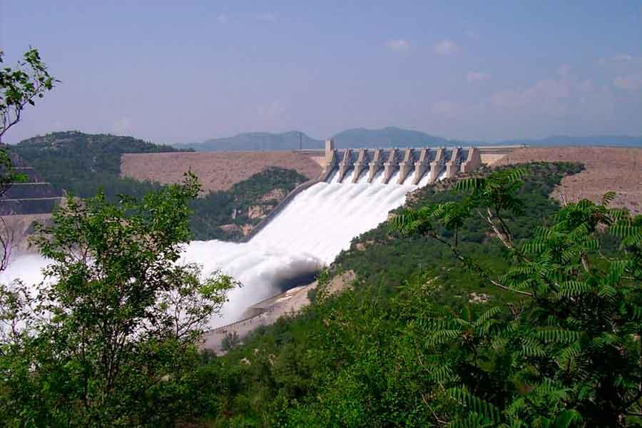Represa de Tarbela - Pakistán