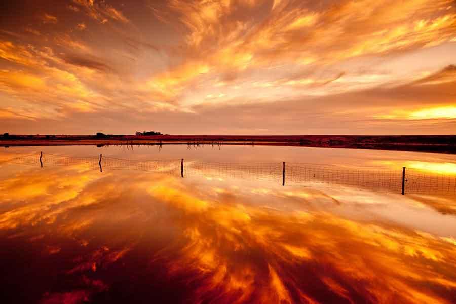 El lago Eyre