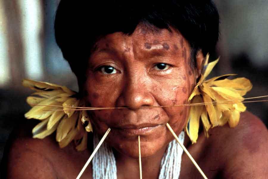Indígena del Orinoco