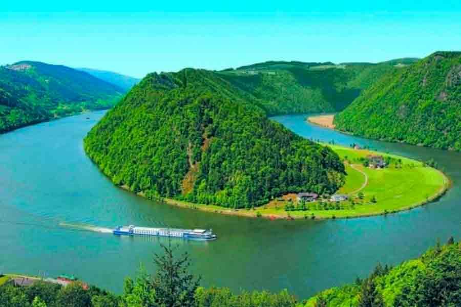 El río Danubio
