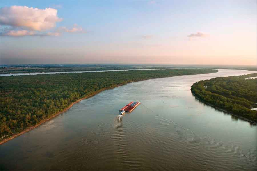 El río Mississipi