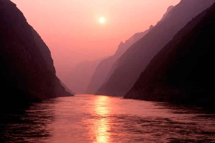 El río en sus nacientes