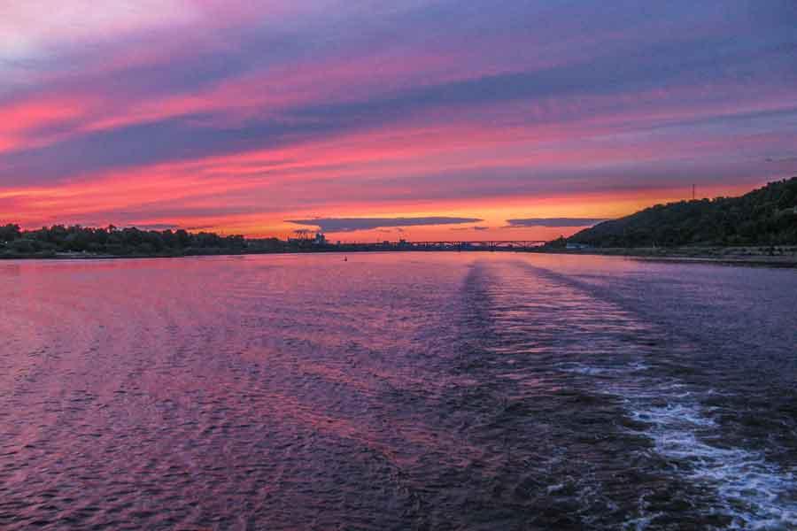 El río Volga