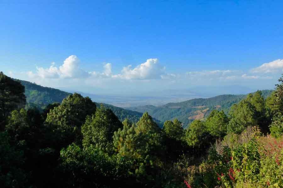 Sistema montañoso de la Sierra Madre