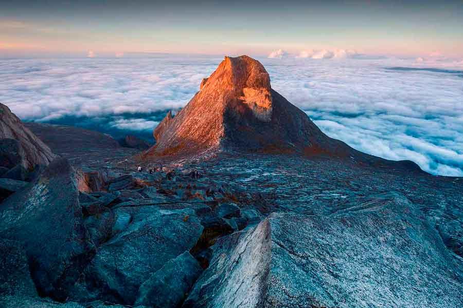 La isla de Borneo - Monte Kinalabu