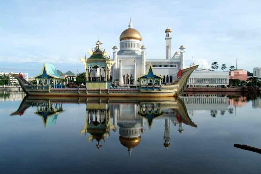 La isla de Borneo- Brunei