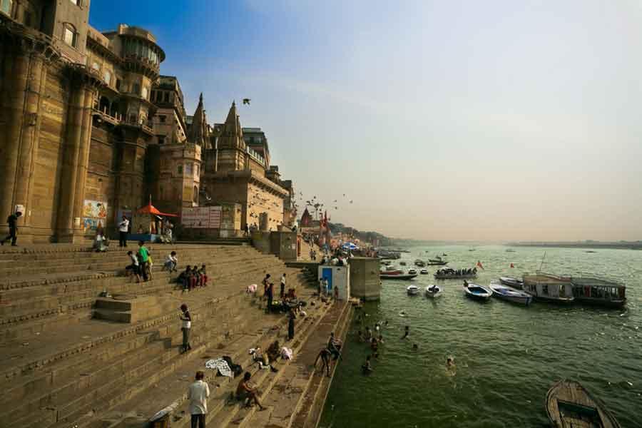El río Ganges