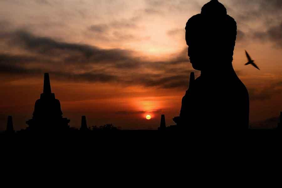 La isla de Java - Borobudur