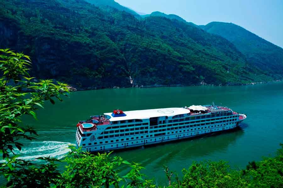 El río Yangtze